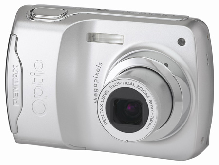 Pentax Optio E30 compact digital camera