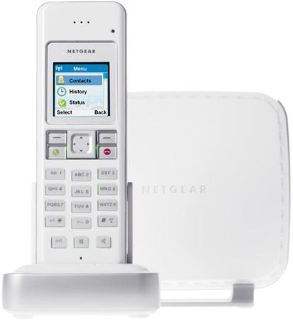 Netgear SPH200D duel mode VoIP / DECT phone