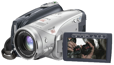 Canon HV20 camcorder