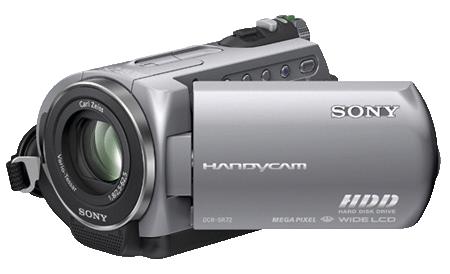 Sony DCR-SR72E camcorder