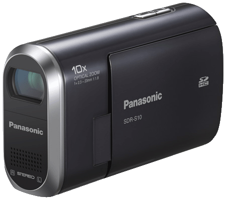Panasonic SDR-S10 camcorder