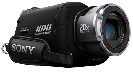 Sony SR7E camcorder