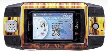 T-Mobile Sidekick iD
