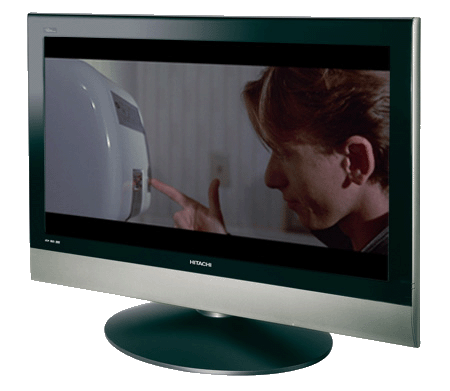 "Hitachi 37LD9700 TV - ""Reservoir Dogs"" image copyright Miramax"