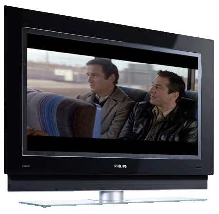 """Philips Ambilight 37PF9731D - """"Midnight Run"""" image copyright Universal Pictures"""