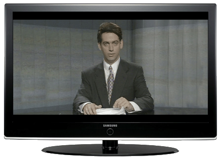 "Samsung LE52M87 - ""Frontline"" image copyright ABC"