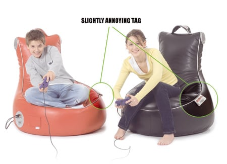 SlouchPod gaming chair • The Register