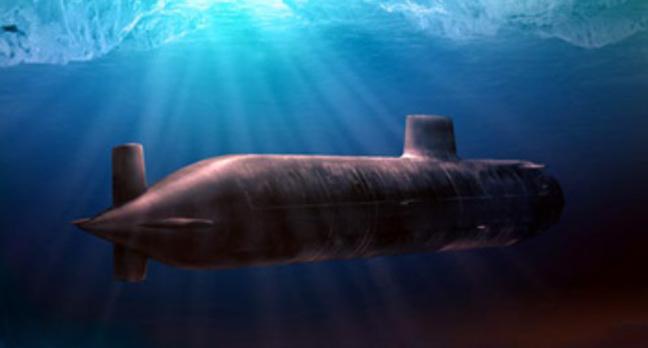 Astute Class Submarine