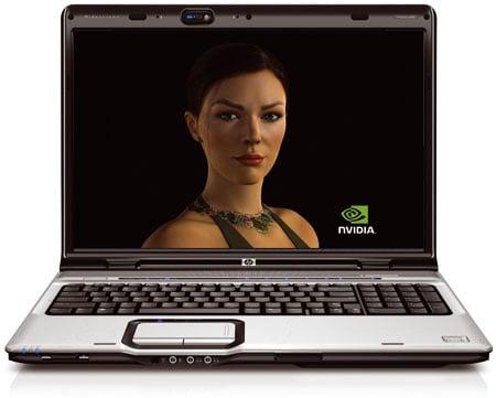 Nvidia GeForce 8600M GT - HP Pavilion dv9000