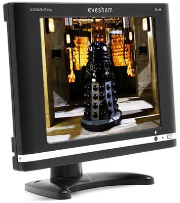 Evesham DA104 10.4in LCD TV plus DVD - Doctor Who image courtesy BBC/Terry Nation