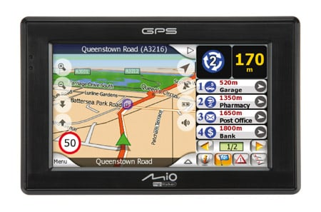 Mio C320 personal navigation device