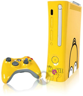Microsoft Xbox 360 Simpsons edition