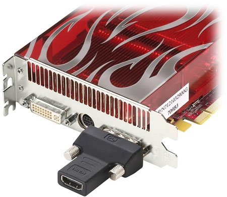 AMD ATI Radeon HD 2900 XT - HDMI dongle