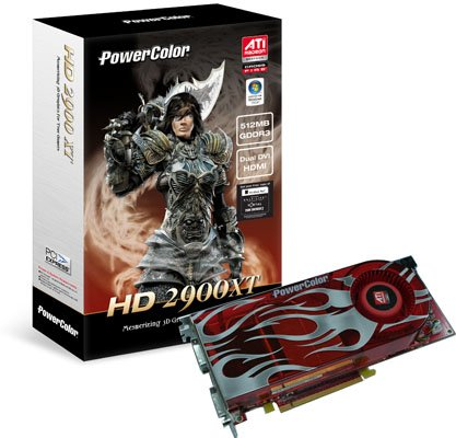 AMD ATI Radeon HD 2900 XT - PowerColor box