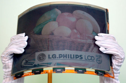LG.Philips' colour 14.1in e-paper display