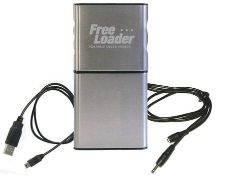 Freeloader portable solar energy charger