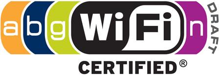 Wi-Fi Alliance 802.11a/b/g/n certification logo