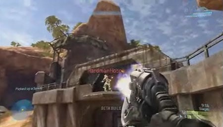 Halo 3 Public Beta gameplay movie at Gametrailers
