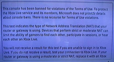 Microsoft's message to Xbox 360 hackers