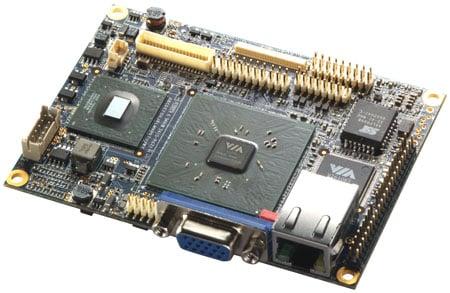 VIA EPIX PX Pico-ITX motherboard