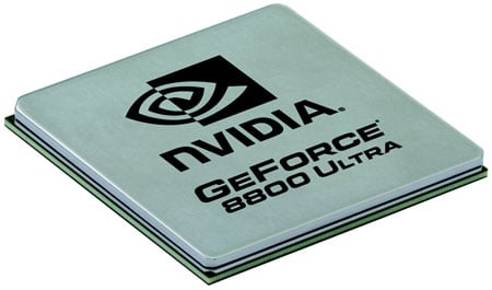 Nvidia GeForce 8800 Ultra GPU