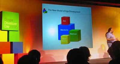A mood shot from Google Dev Day