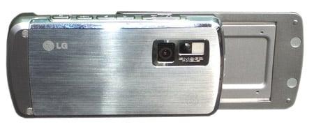 LG U970 Shine camera