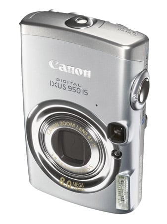 Canon Ixus 950 IS digital camera (top)