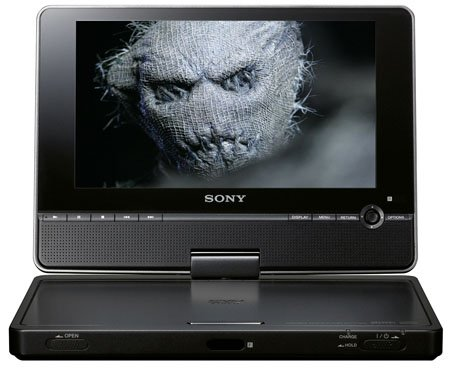 Sony DVPFX850 portable DVD player - Doctor Who image courtesy BBC