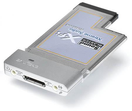 Creative Sound Blaster X-Fi Notebook Drivers Update