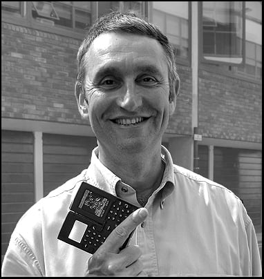 Martin Riddiford: industrial designer for many Psion products