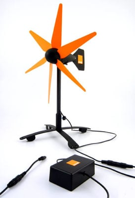 Gotwind's Orange wind-powered phone charger