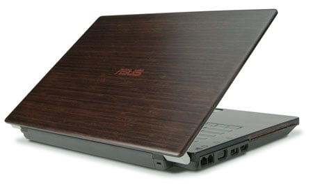 Asus EcoBook wood-covered laptop