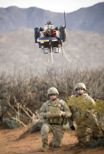 MAV hoverbot