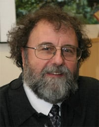 Properly bearded, Defra's new chief scientific advisor, Dr. Robert Watson
