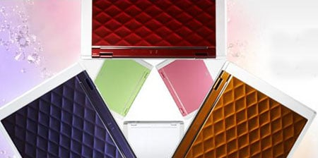 The LaVie 3D colour range