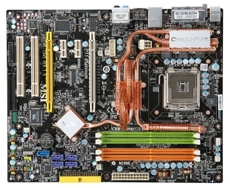 MSI Platinum with a Core 2 Extreme QX6800