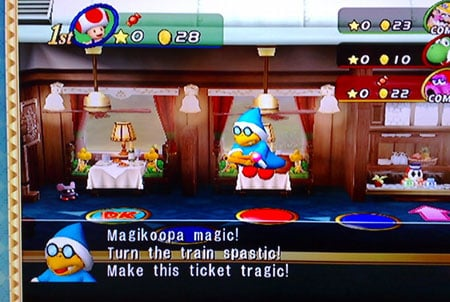 Nintendo Mario Party 8... and 'glitch' - image courtesy Sargey22 at Photobucket