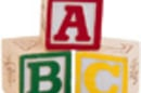 ABC childrens blocks
