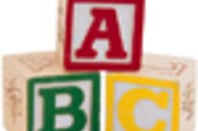 ABC childrens blocks