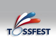 The tossfest logo, complete with, er, splashes