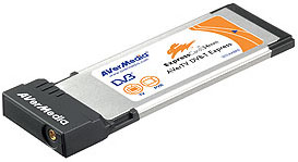 AVerMedia ExpressCard TV tuner