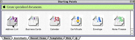 AppleWorks 6 for Mac OS 9