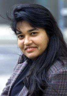 A photograph of Dr Rita Pal