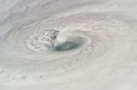 Hurrican Dean, as seem from the International Space Station. Credit: NASA