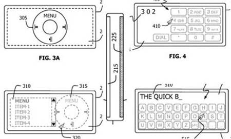Apple 'translucent' iPod panel patent