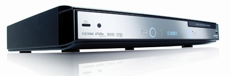 The Sharp Aquos BD-HP20S Blu-ray player