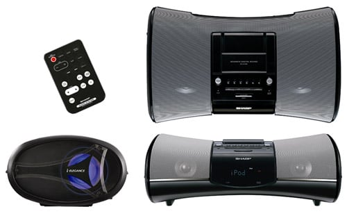The DK-A1H iPod stereo sound system