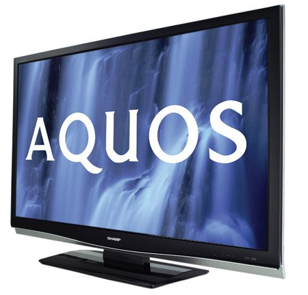 An example of the Sharp Aquos X20E LCD TV range