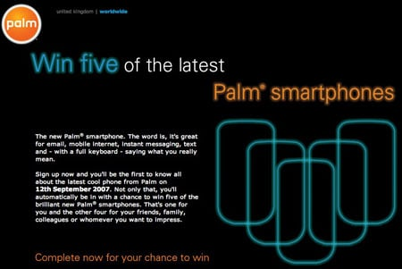 Palm Otto teaser page